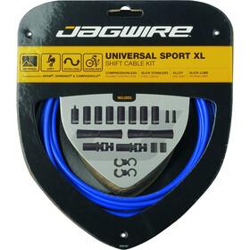 Jagwire Sport XL Schaltzugset 4000mm blau